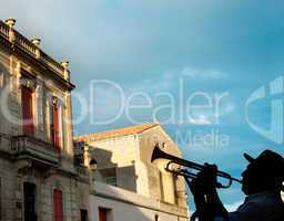 Trumpeter in France
