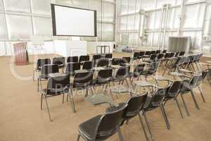 Empty Presentation Conference Room