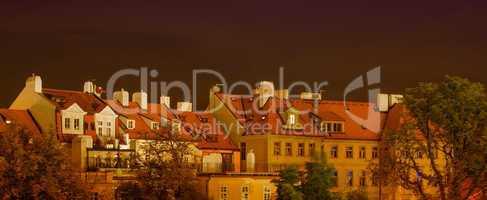 Prague, Czech Republic - Cityscape in summer season