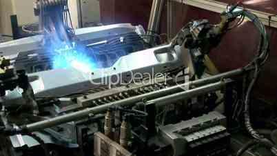 Laser Welding Cyborg Robot