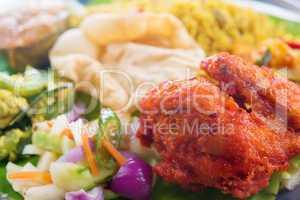 Indian biryani chicken rice