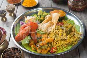Biryani rice ready to eat