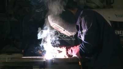 Works 11 Welder with Welding Electrode