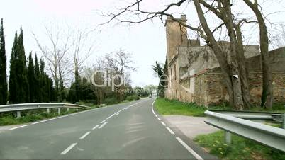 Mediterranean Rustic Road Camera Car