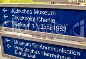Landmarks directions in Berlin