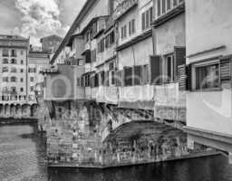 Ponte Vecchio, Firenze - Italy. Old Bridge in Florence