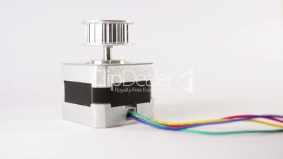 Electric Stepper Motor End Up