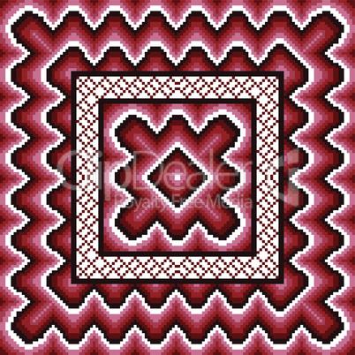 Dark red seamless pattern