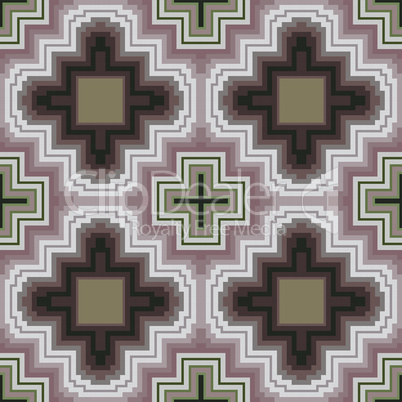 Seamless pattern in cocoa hues