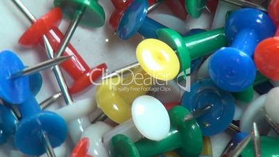 Thumb Tacks, Push Pins, Office Supplies