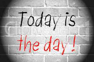Today is the day !