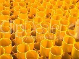 Struktur aus Rohren