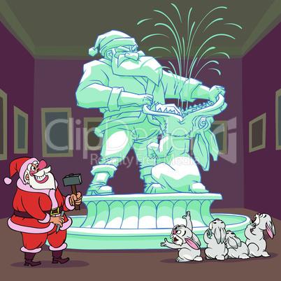 Santa Claus's Sculpture