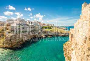 Wonderful quaint village of Polignano a Mare - Apulia, Italy