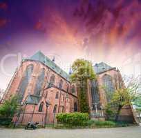 St Bartholomaus Frankfurter Dom Cathedral in Roemerberg Frankfur