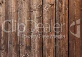 Rustikale braune Holzbretter als Hintergrund
