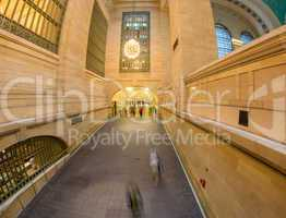 NEW YORK CITY - MAY 24, 2013: Interior of Grand Central Station