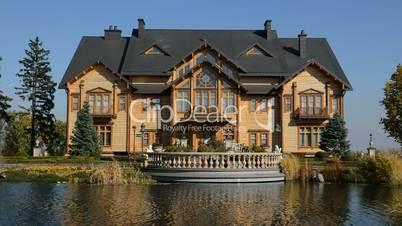 """""""Khonka"""" house in Mezhigirya of ex-president Yanukovich"""