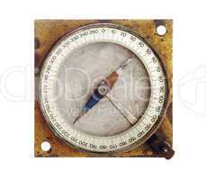 old magnetic compass