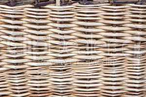 Photo of basket's texture