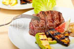 grilled beef filet mignon