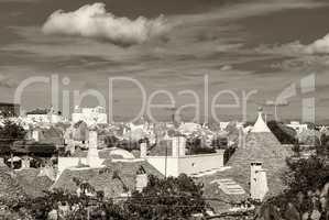 Trulli in the southern Italian town of Alberobello, Apulia, Ital