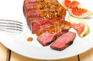 green peppercorn beef filet mignon