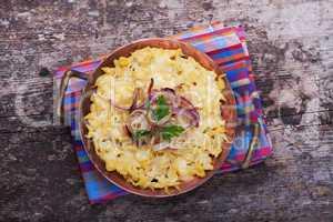 Bayerische Spätzle mit Käse