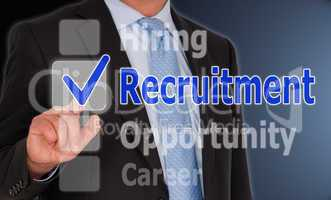 Recruitment - Business Concept