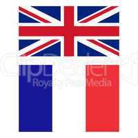 Flag of United Kingdom and France