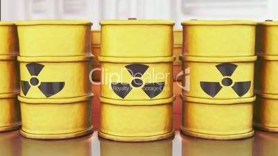 Toxic Barrels // 3D Visualization