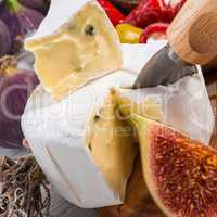 soft cheese antipasti