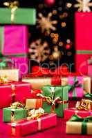 Plenty of Single-Colored Xmas Presents