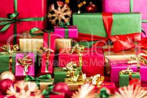 Plenty of Xmas Gifts Piled Up