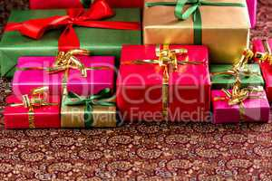 Plenty of Presents Ready to be Collected.