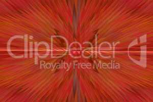 Red abstract background with sharp thorns