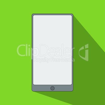 smartphone icon flat design