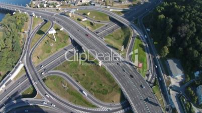 Two-level   road junction, Kiev, Ukraine
