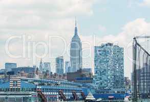 Buildings and skyscrapers of Manhattan