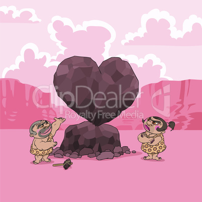 Valentine's Day in Stone Age