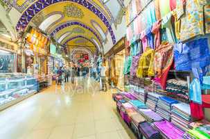 ISTANBUL - SEP 15,: The Grand Bazaar, considered to be the oldes