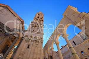 Split Kathedrale - Split cathedral 01