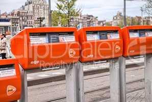 Amsterdam street sign