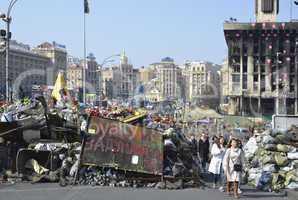 Maidan in the Ukrainian capital