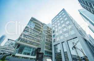 Office buildings of Istanbul