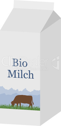 Bio Milchtüte