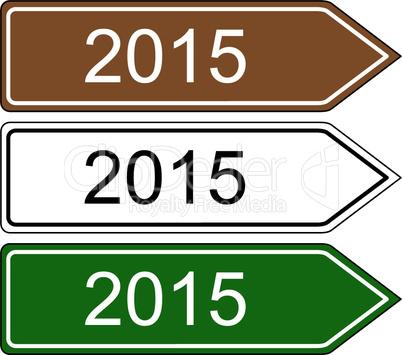 Richtungsschild 2015