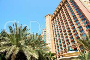The building of luxury hotel, Dubai, UAE