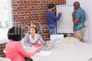 Creative business team in meeting