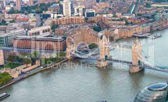 London Bridge and Thames river - London
